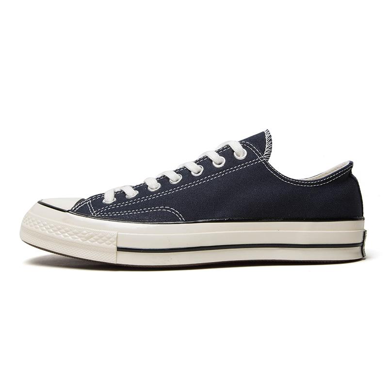 匡威 CONVERSE 男鞋 1970S帆布鞋三星标复古低帮运动休闲板鞋 164950