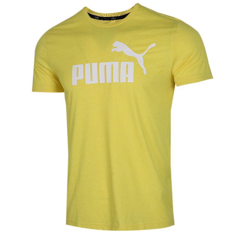 彪马 PUMA 男装 运动服跑步训练健身快干透气舒适休闲圆领短袖T恤 853756-67