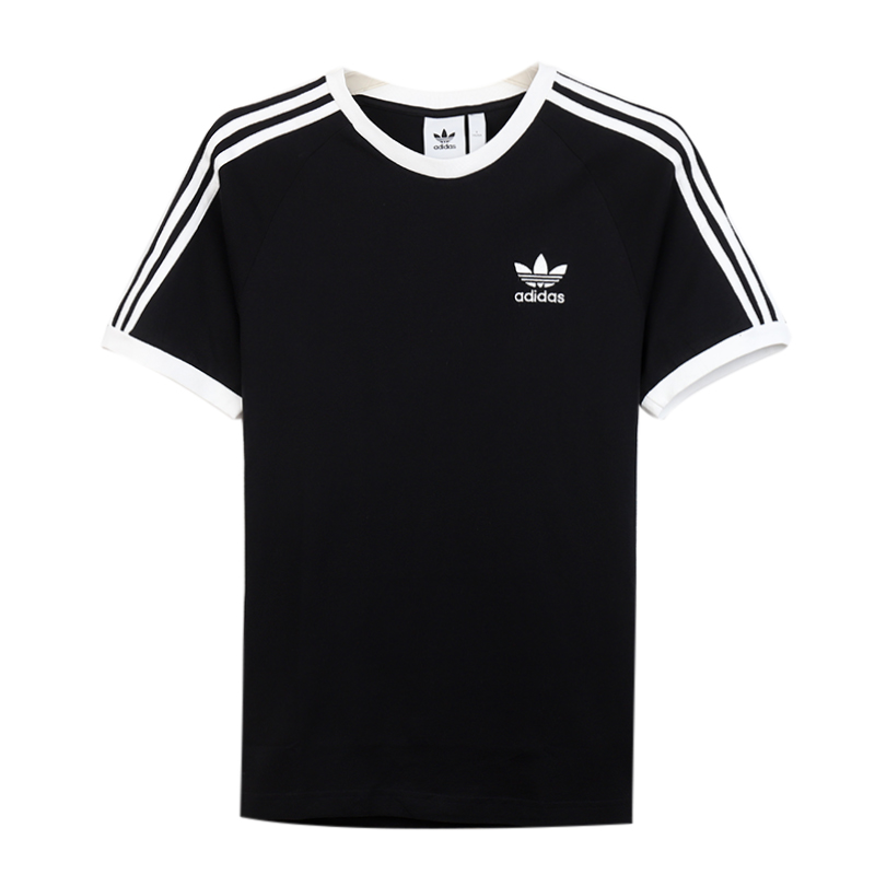 阿迪达斯三叶草 Adidas 男子 运动服跑步舒适透气休闲圆领短袖T恤 CW1202