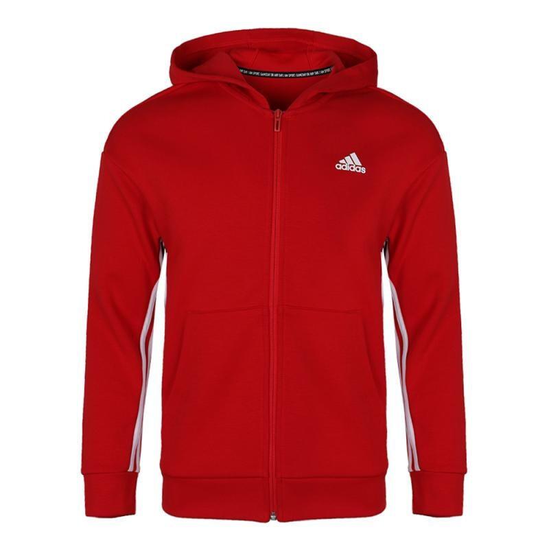 阿迪达斯 adidas 儿童 运动服跑步训练健身透气舒适防风休闲外套针织夹克 ED6485