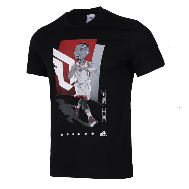 阿迪达斯 adidas 男装 运动服DAME跑步训练健身快干透气舒适休闲圆领短袖T恤 FM4775  FM4774