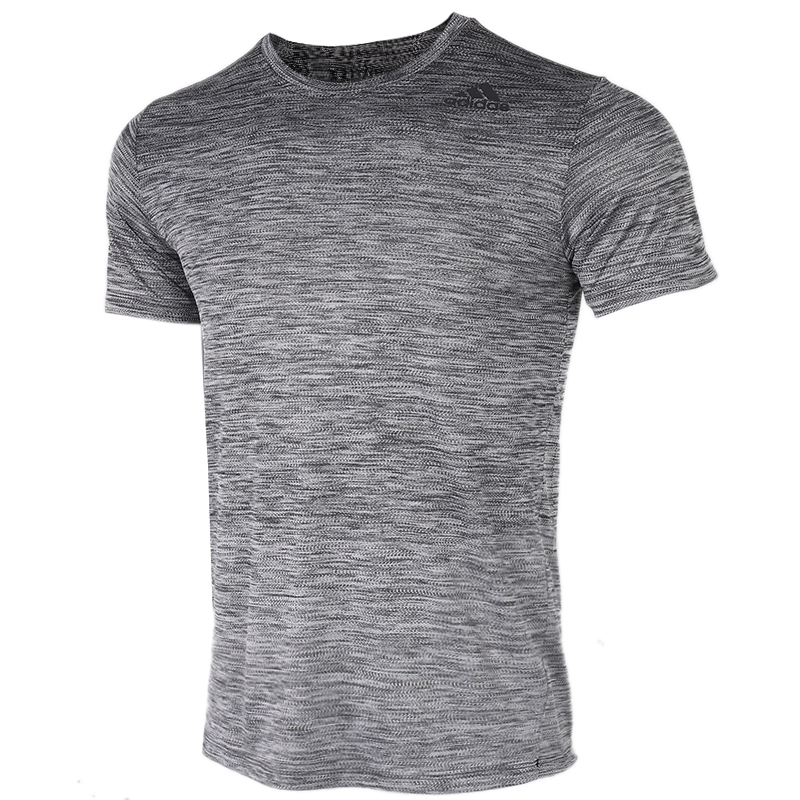 阿迪达斯 adidas 男装 运动服跑步训练健身渐变快干清爽透气舒适休闲圆领短袖T恤 FL4393