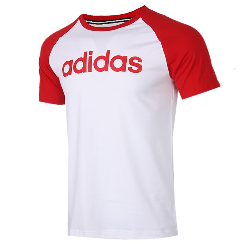 阿迪生活 Adidas NEO  男装 运动服跑步训练健身透气舒适休闲圆领短袖T恤 FP7440