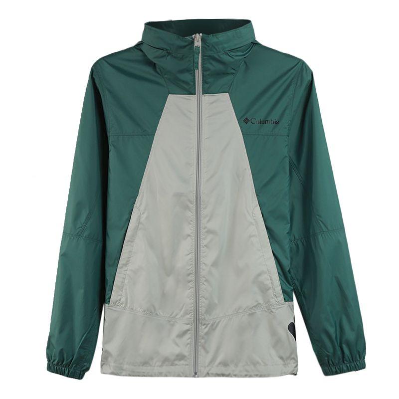 哥伦比亚 男装 新品防晒衣男城市户外运动透气皮肤衣夹克  KE0085333