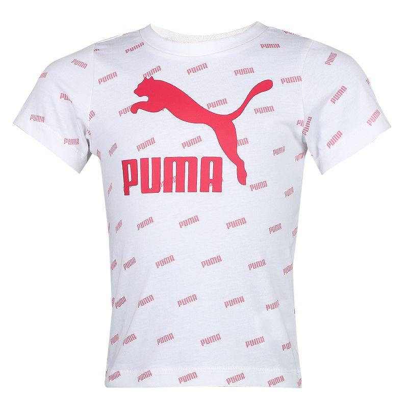 彪马PUMA  儿童 运动套装休闲舒适透气儿童圆领短袖T恤短裤 598538-74
