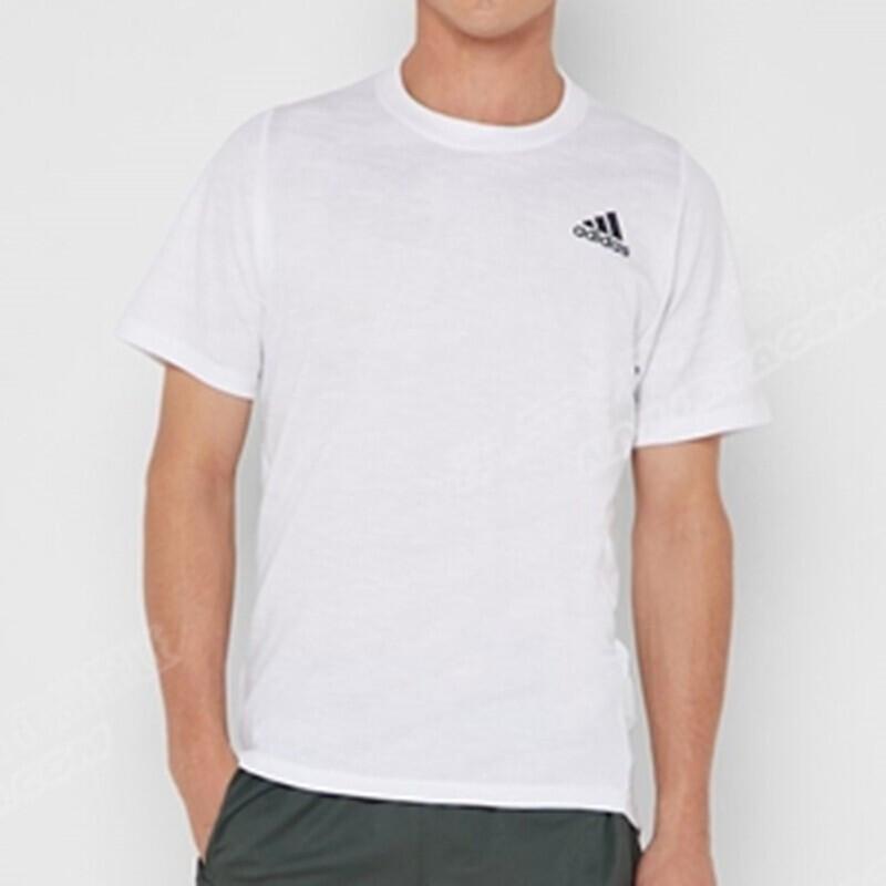 阿迪达斯adidas 男装 跑步训练健身快干透气圆领短袖T恤 DU1209