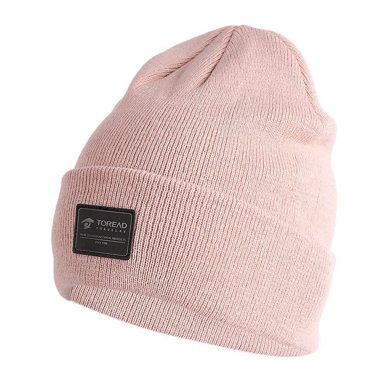 探路者TOREAD 男女 19冬季新款户外帽防风保暖简约保暖针织帽 TELH90824-AB6X
