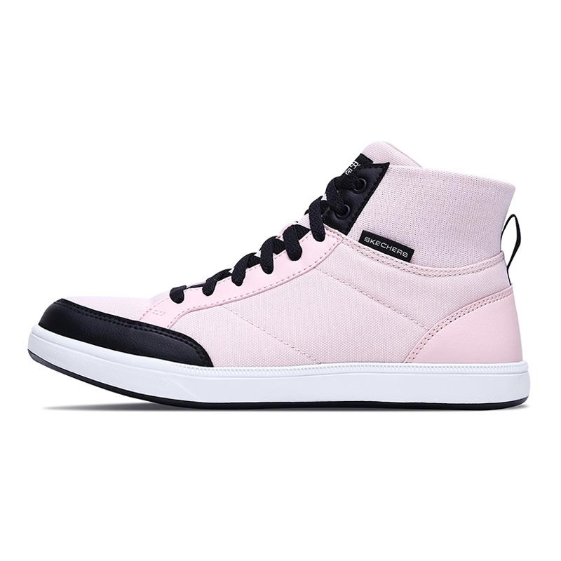 斯凯奇Skechers 女鞋 2020春新款运动袜套鞋中帮休闲鞋 16484-WHT
