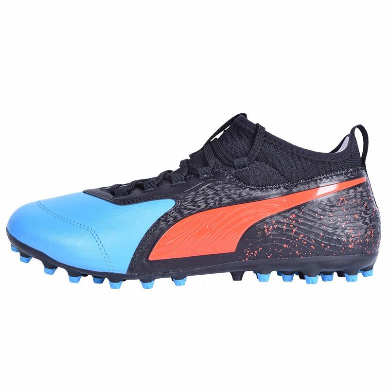 彪马PUMA 男子足球鞋ONE系列 19.3级别 MG人工草足球鞋 105614-01
