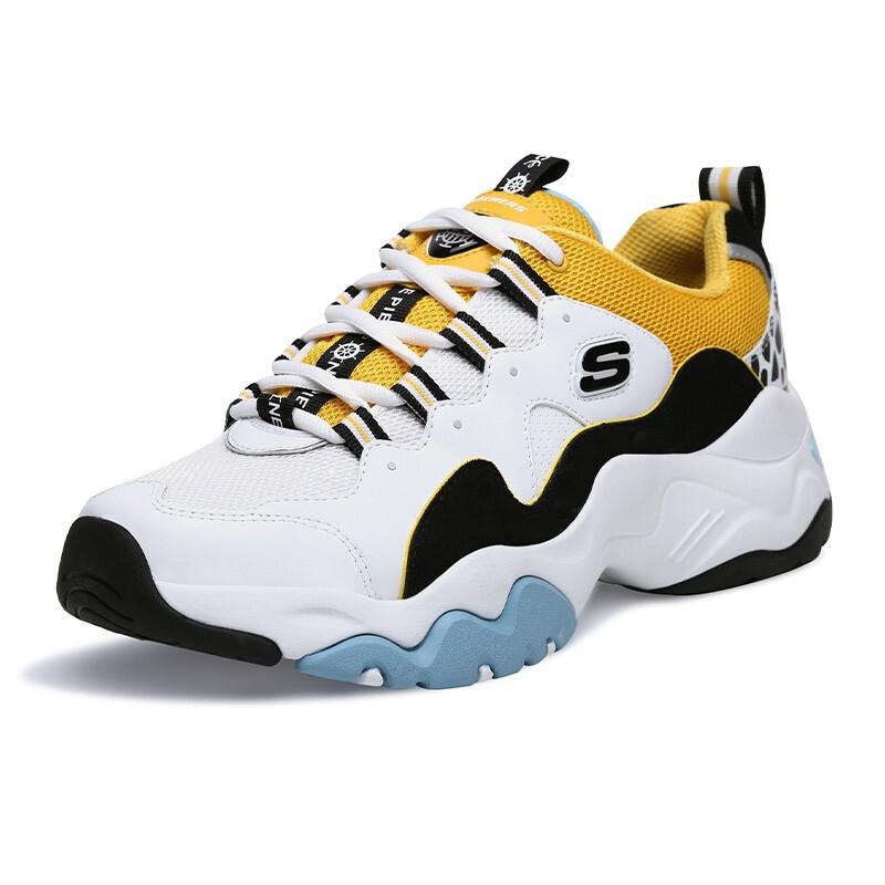 斯凯奇Skechers 男鞋 海贼王熊猫鞋航海王运动鞋 999112-WBGD