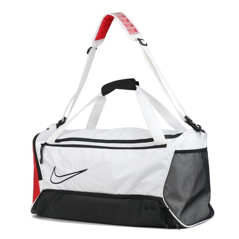 耐克NIKE 男女 运动休闲斜挎包行李包桶包大容量单肩包 BA6163-100