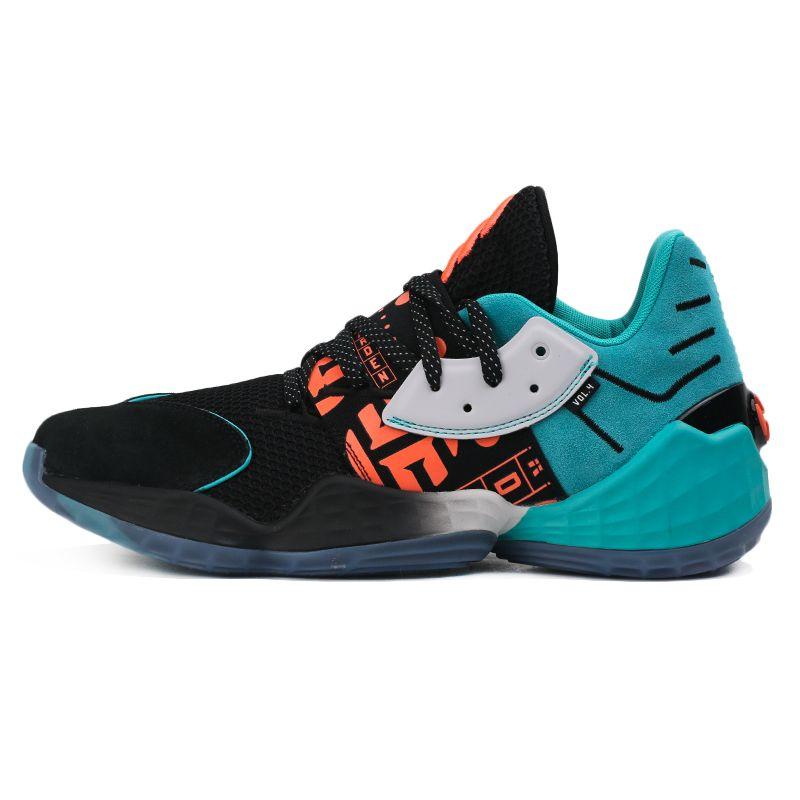 阿迪达斯adidas Harden Vol. 4 GCA 男鞋 运动鞋跑步训练舒适耐磨哈登运动场实战篮球鞋 EH1999