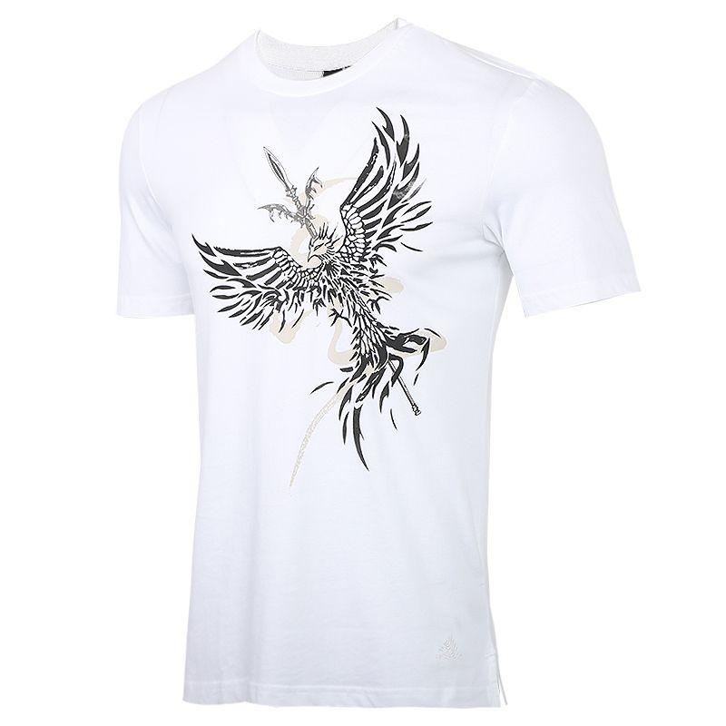 阿迪达斯adidas 男装 运动服跑步训练健身透气舒适休闲圆领短袖T恤 FT2753