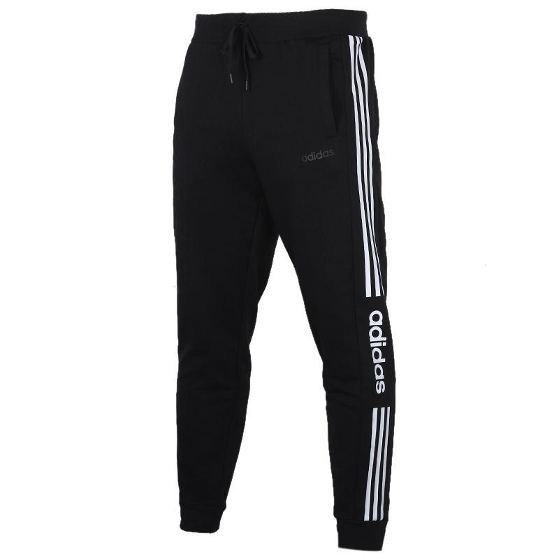 阿迪生活Adidas NEO 男装 运动裤跑步训练健身舒适透气休闲针织长裤 FP7487