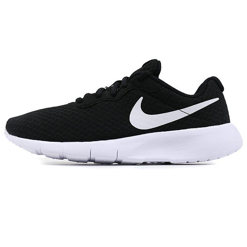 耐克NIKE 儿童 低帮轻便跑步鞋舒适透气运动鞋网面休闲鞋 818381-011