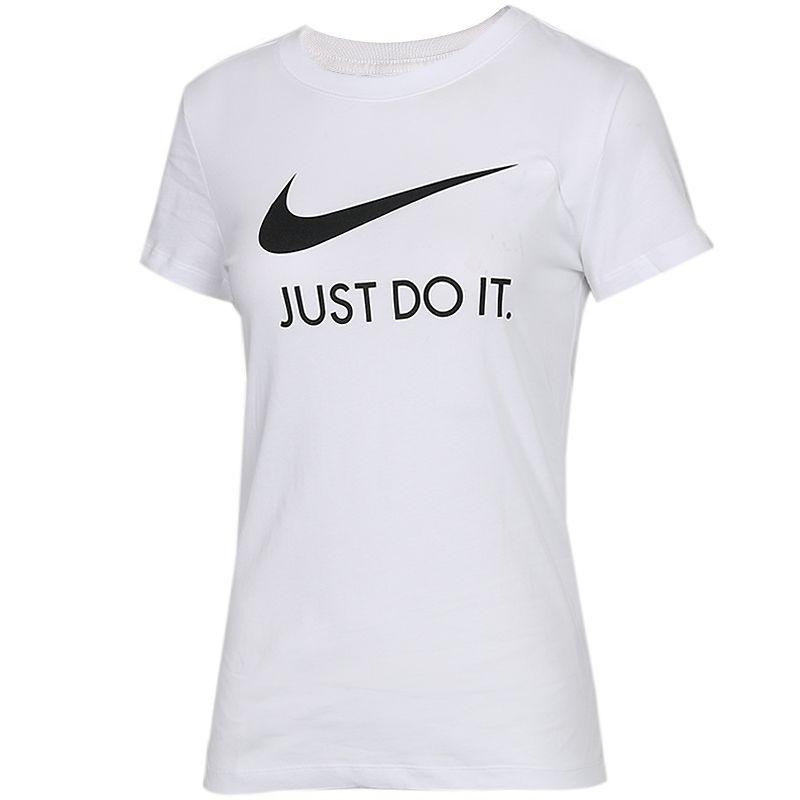 耐克NIKE NSW TEE JDI SLIM 女子 休闲运动时尚圆领短袖T恤 CI1384-100