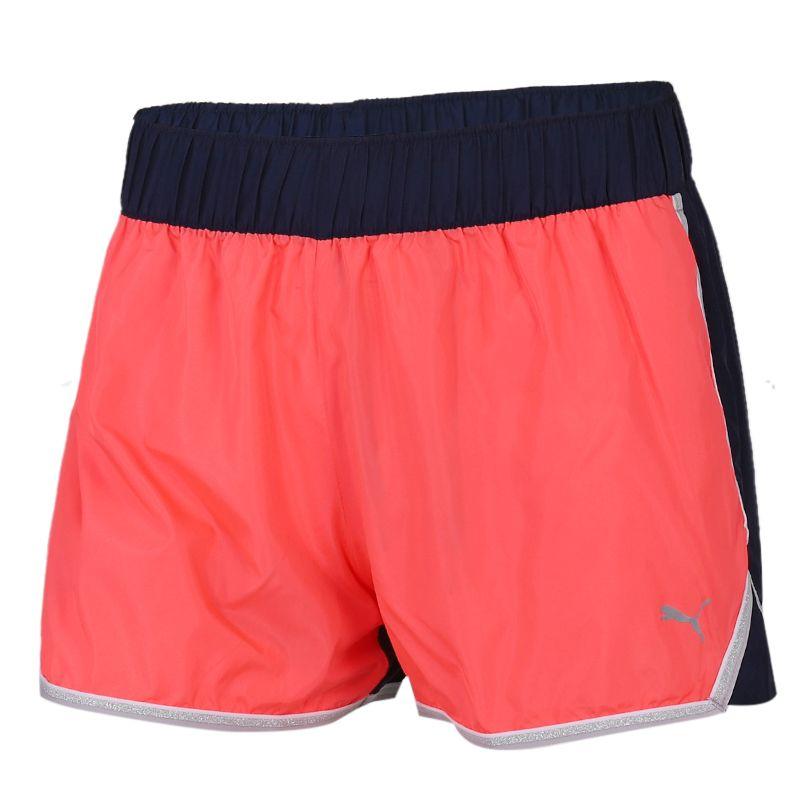 彪马PUMA 女装 舒适快干透气休闲裤五分裤针织系带短裤运动裤 519735-02