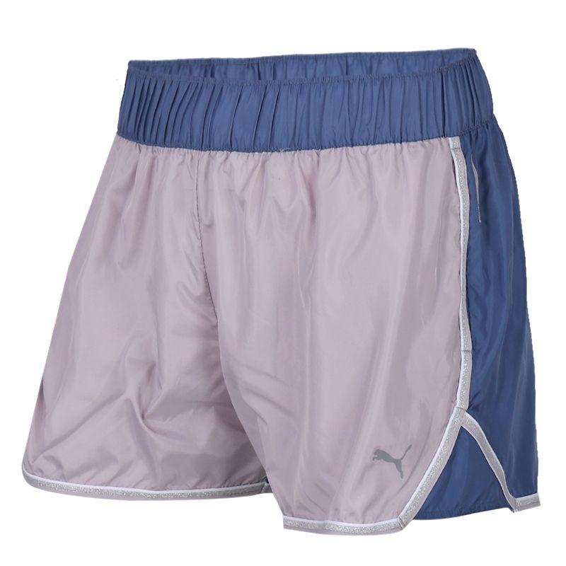 彪马PUMA 女装 运动裤跑步训练健身舒适透气休闲五分裤短裤 519735-01
