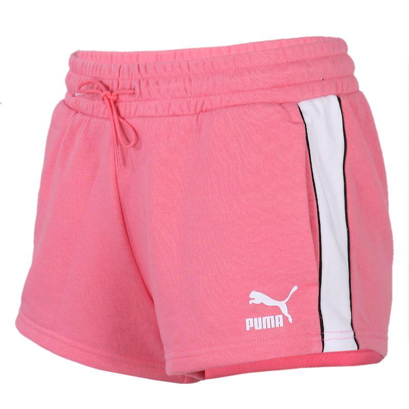 彪马PUMA 女装 运动裤跑步训练健身舒适透气休闲五分裤短裤 598240-14