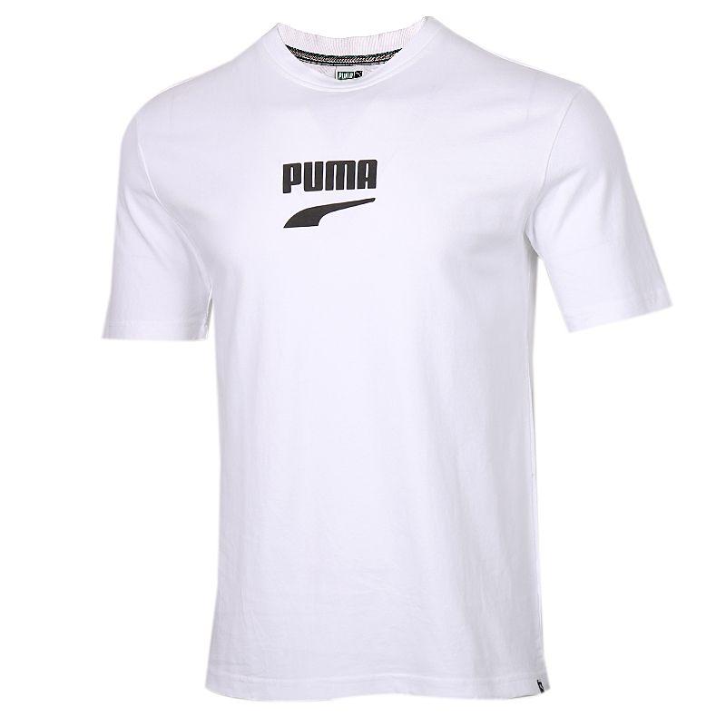 彪马PUMA 男装 运动服跑步训练健身快干透气舒适时尚休闲圆领短袖T恤 597348-52