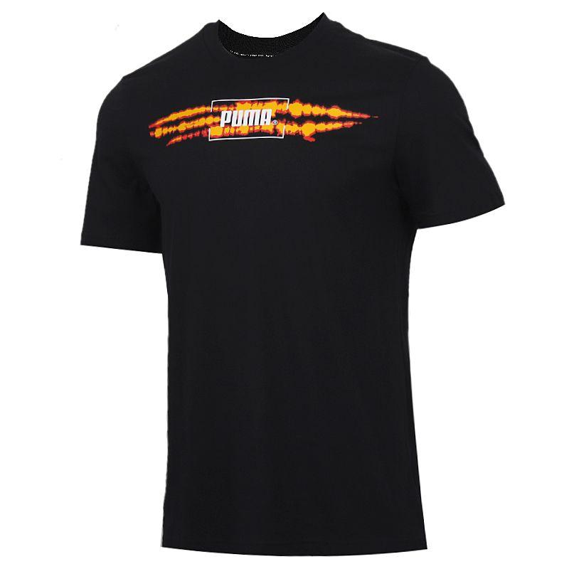 彪马PUMA 男装 运动服跑步训练健身快干透气舒适休闲圆领短袖T恤 599427-51