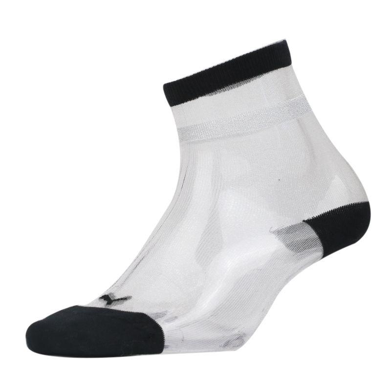 彪马PUMA 女子 运动袜跑步健身舒适透气休闲中袜 907719-01