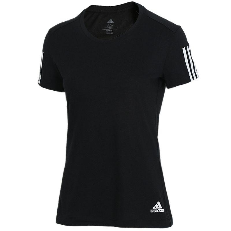 阿迪达斯Adidas  女子 跑步健身训练透气休闲运动服T恤 DZ8265