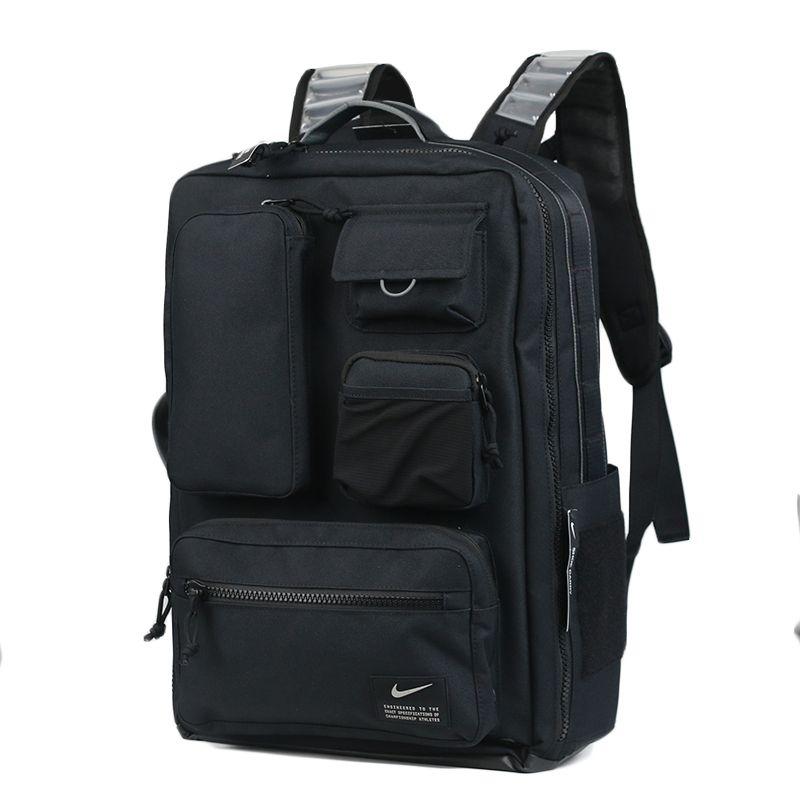 耐克NIKE 男子 休闲时尚户外运动包双肩旅游包背包 CK2656-010