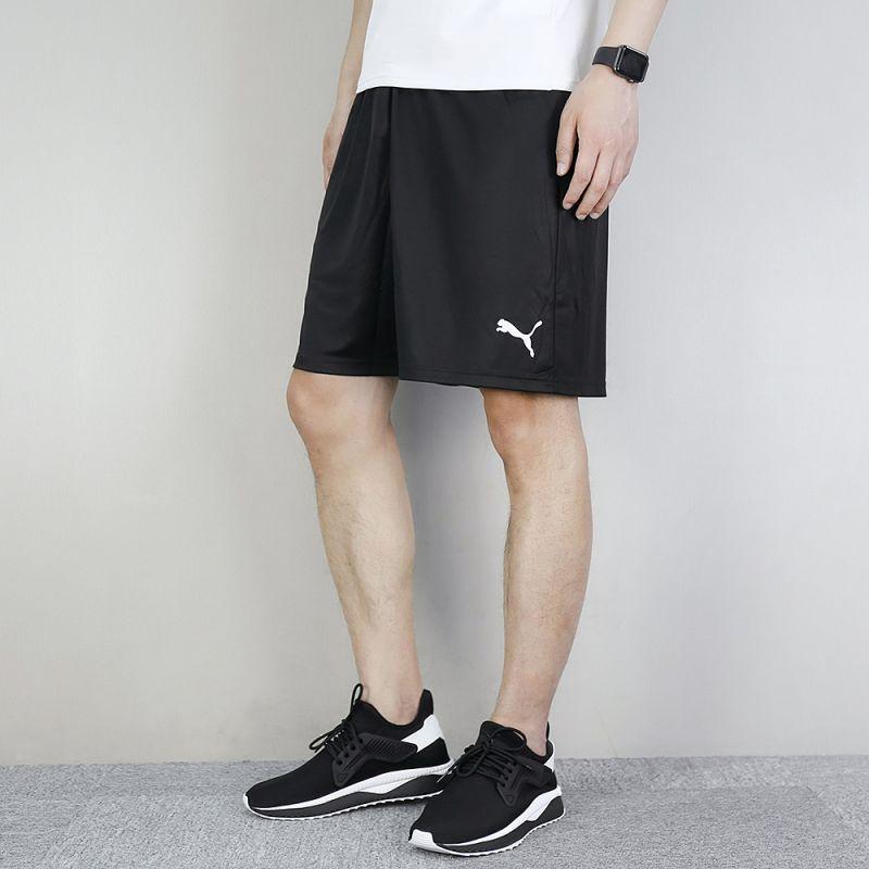 彪马PUMA LIGA Shorts Core 男装 运动透气快干吸汗休闲跑步训练中裤五分裤 703436-03