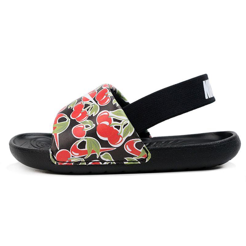 耐克NIKE KAWA SLIDE SE PICNIC (TD)  儿童  运动舒适透气时尚透气休闲鞋童鞋 CT6153-001