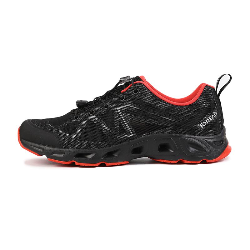 探路者TOREAD  男鞋 户外耐磨网面舒适时尚透气运动休闲登山徒步鞋 KFEH81056-G01A