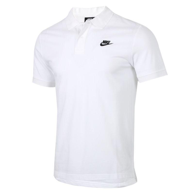 耐克NIKE 男装 运动宽松训练T恤POLO衫 CJ4457-100