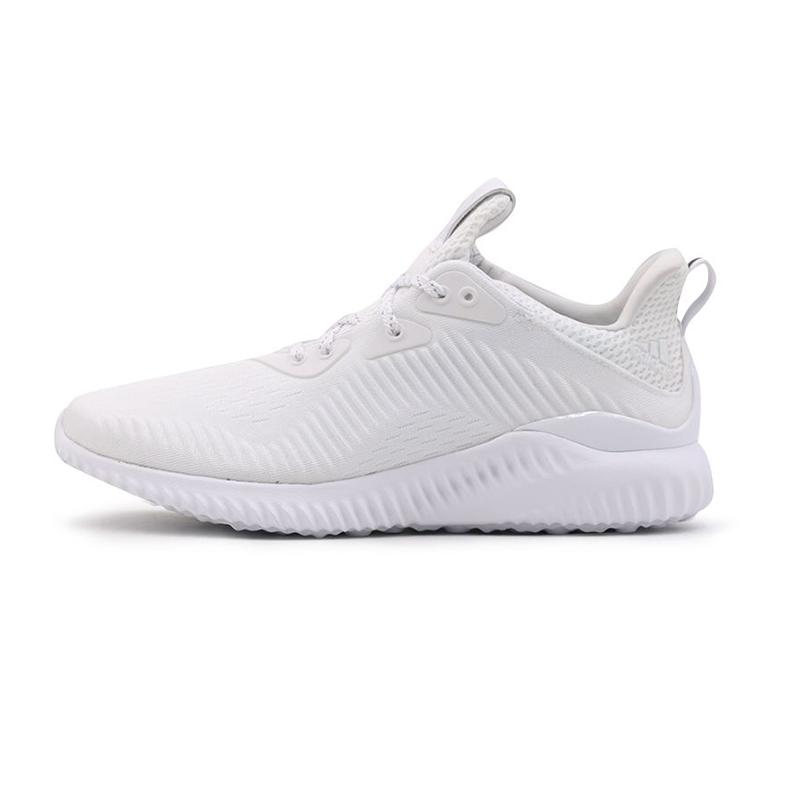 阿迪达斯adidas 男女 网面透气运动鞋阿尔法休闲跑步鞋 FW4686