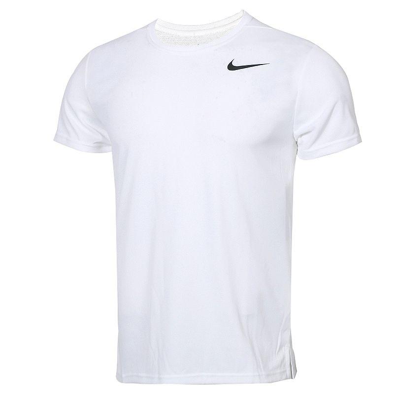 耐克NIKE SUPERSET TOP SS 男子 圆领快干透气短袖T恤  AJ8022-100