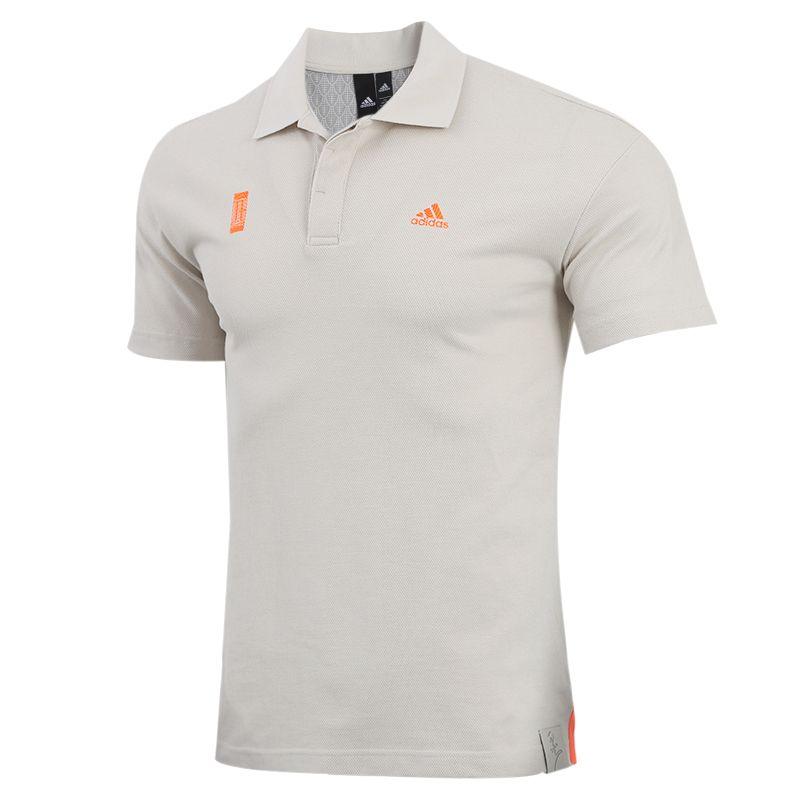 阿迪达斯adidas 男装 运动跑步健身快干透气舒适休闲polo衫短袖T恤  FT2756