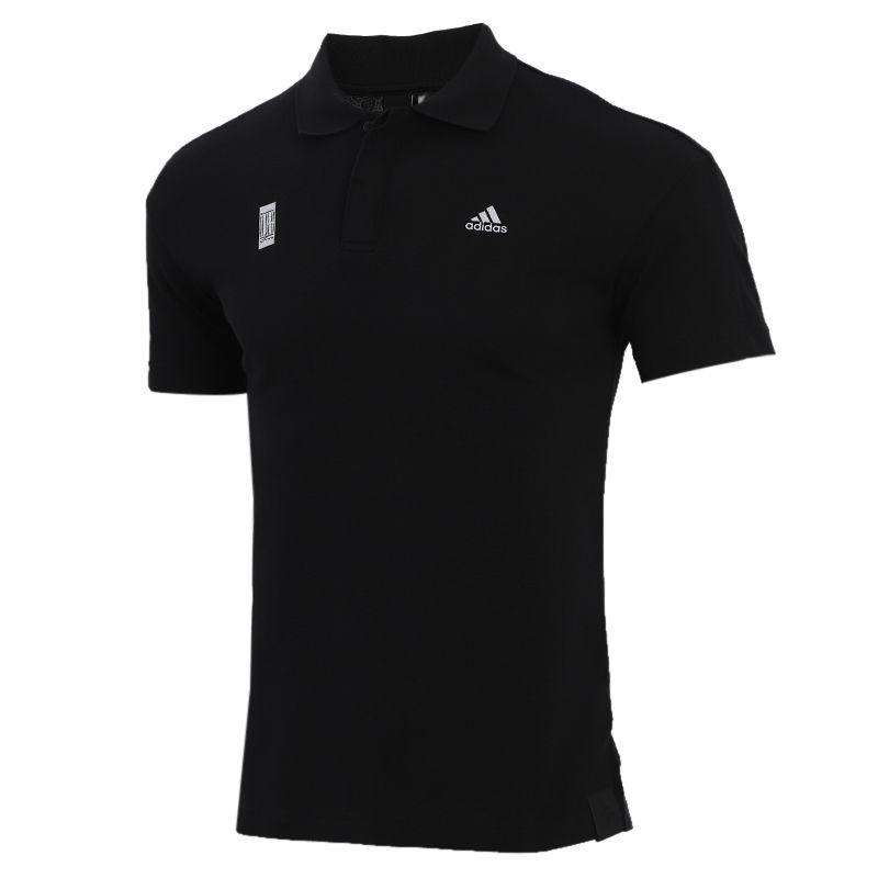 阿迪达斯adidas  男装 运动跑步训练健身快干透气舒适休闲polo短袖T恤 FT2760