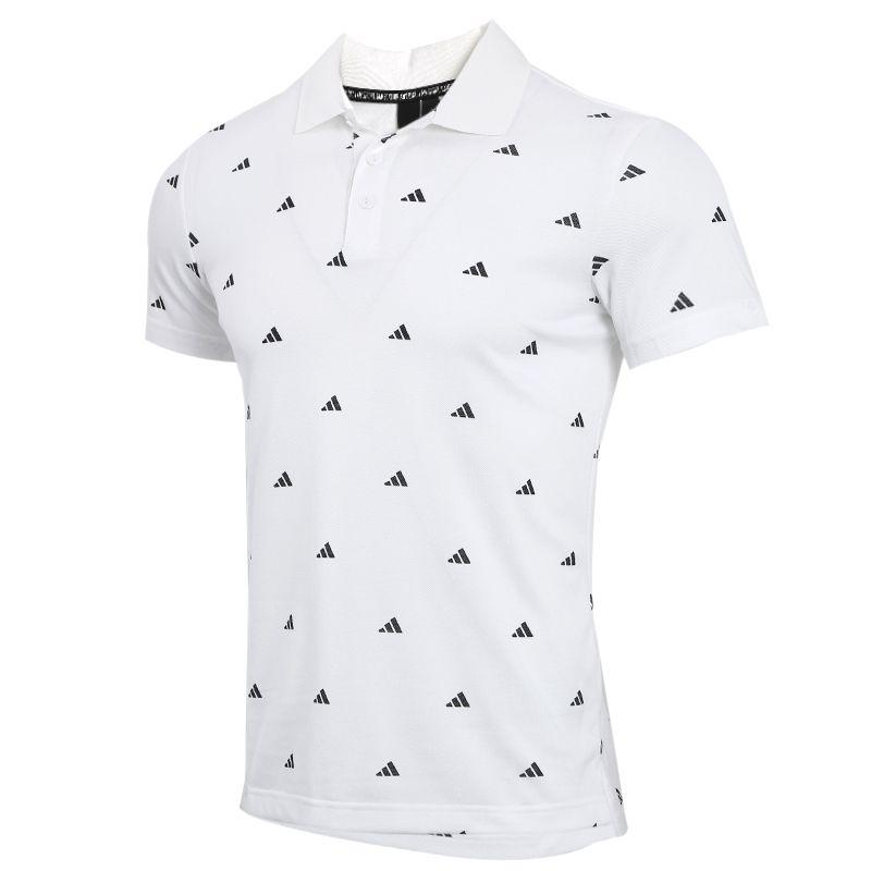 阿迪达斯adidas  POLO GEN AOP 男装 运动半袖体恤休闲透气T恤POLO衫 FT2800