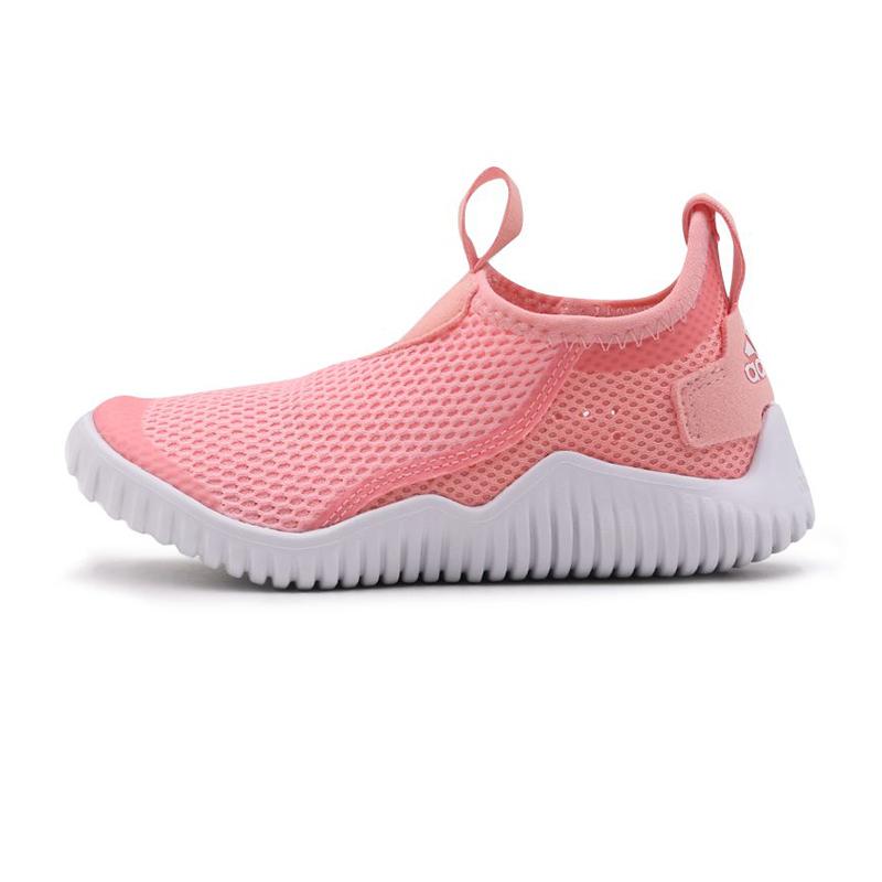 阿迪达斯adidas 儿童 透气网孔舒适运动训练鞋 FX2572
