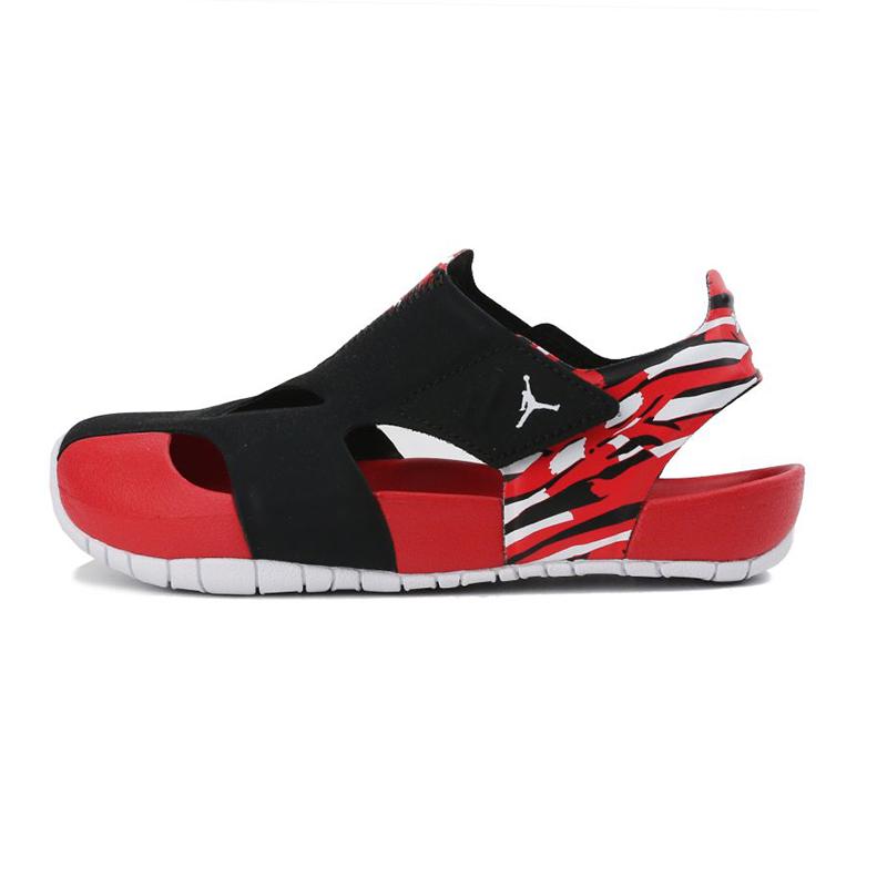 耐克NIKE JORDAN FLARE (PS) 儿童 运动舒适沙滩鞋凉鞋 CI7849-016