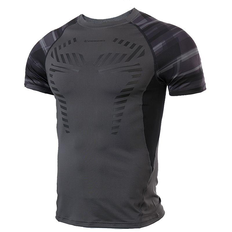 ENERGETICS 男装 运动训练短袖紧身衣 266862-046