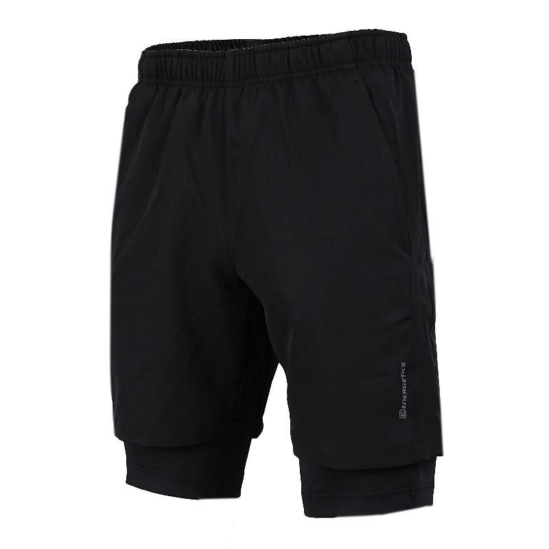 ENERGETICS Freddie X ux IAP 男子 运动跑步舒适梭织短裤 266943-900050