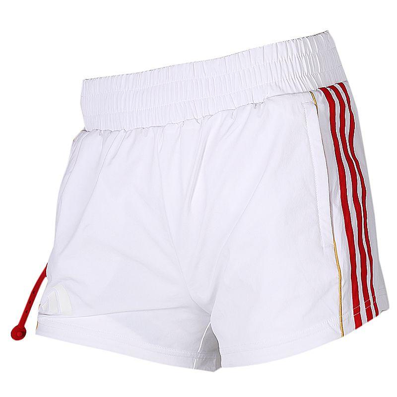 阿迪达斯adidas 女装 户外运动裤宽松透气短裤 FT2867