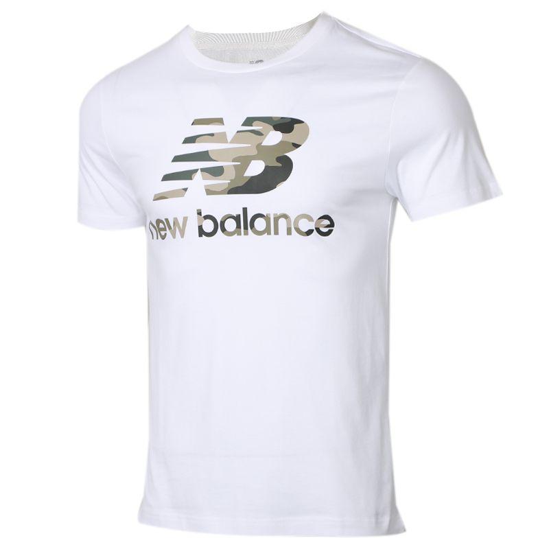 新百伦New Balance 男装 运动休闲圆领T恤 AMT01581-WT