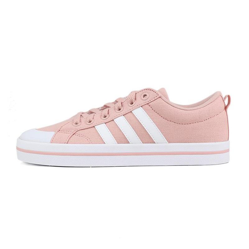 阿迪生活Adidas NEO BRAVADA 女鞋 休闲帆布板鞋 FV8095