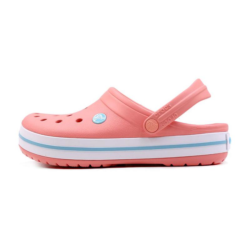 卡骆驰 Crocs  男女 卡骆班平跟沙滩鞋防滑凉鞋拖鞋洞洞鞋 11016-7H5