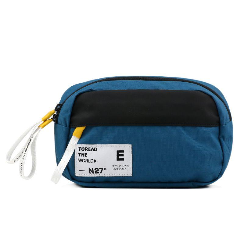 探路者Toread  男女 运动时尚休闲挎包健身训练便携跑步腰包 TEBI80772-CD2G
