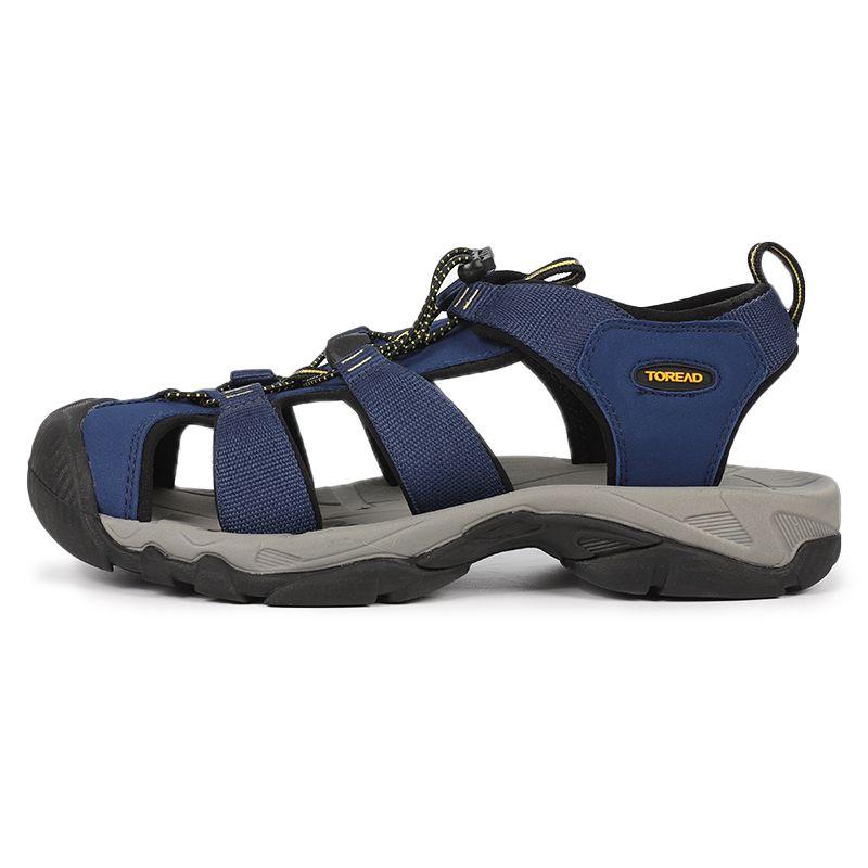 探路者Toread  男鞋 户外包头拖鞋透气耐磨防滑运动鞋凉鞋 TFGI81707-CA5G