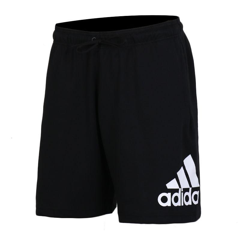 阿迪达斯adidas 男装 跑步训练运动裤宽松五分裤 DX7666