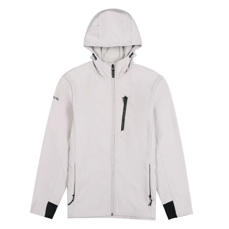 探路者 TOREAD 男子 户外弹力保暖软壳衣外套 TAEH91286-G58X