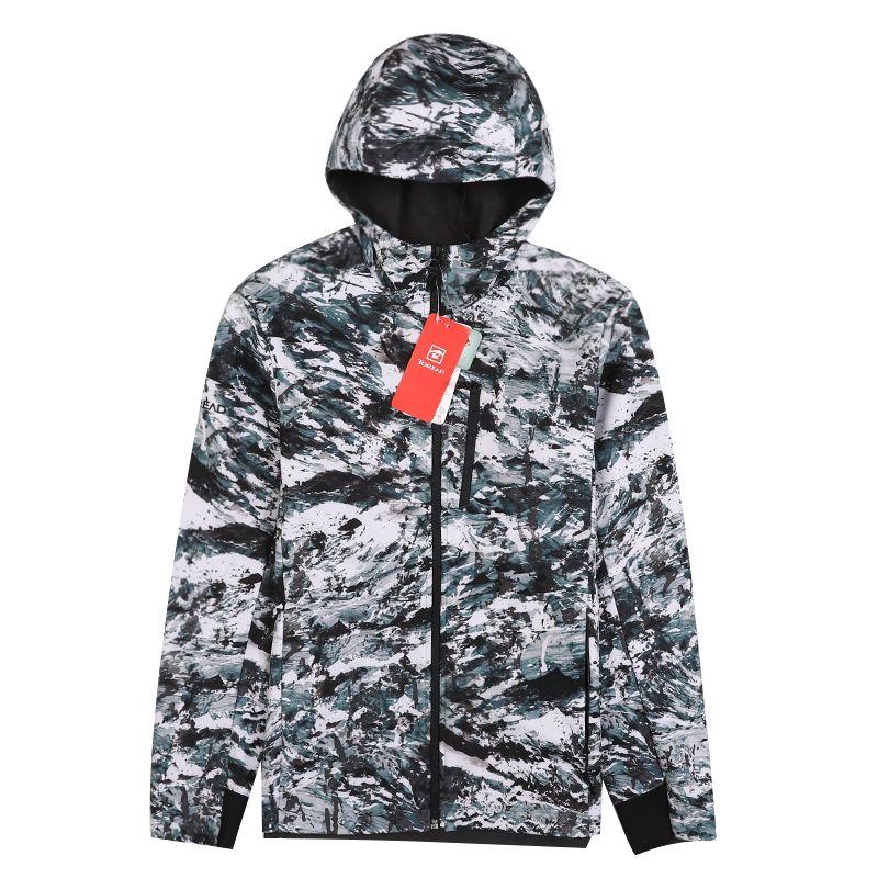 探路者 TOREAD 男子 户外弹力防泼水软壳外套 TAEH91292-H01X